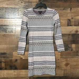 TopShop Long Sleeves Stretch Sweater Dress Tunic